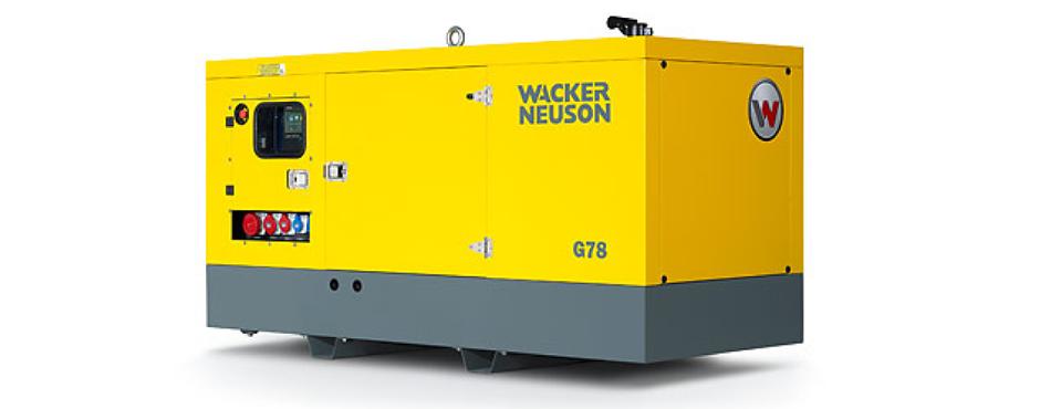 G 78 Mobile Generator (78 kVA)